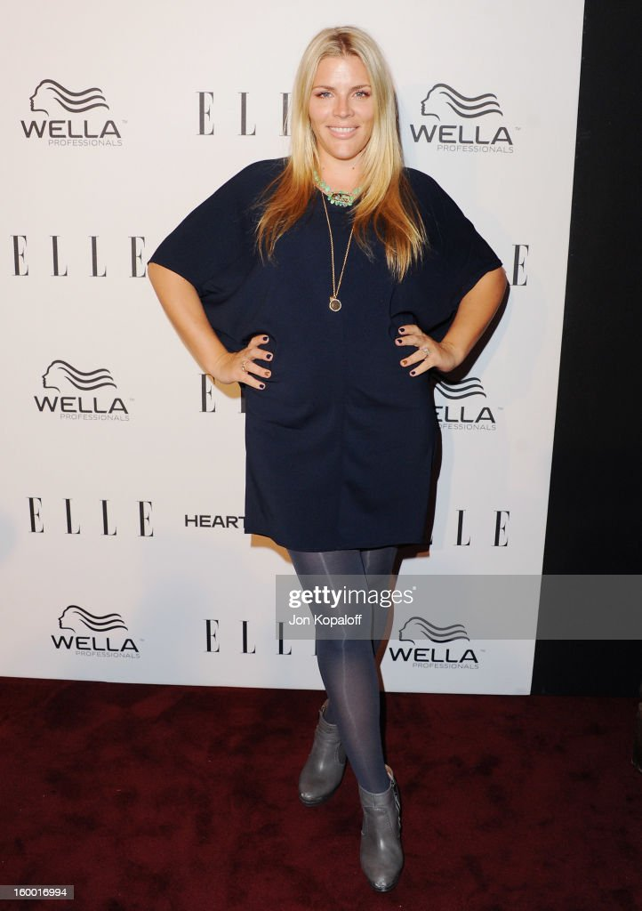 Actress Busy Philipps arrives at ELLE's 2nd Annual Women In TV Event at Soho House on January 24, 2013 in West Hollywood, California.