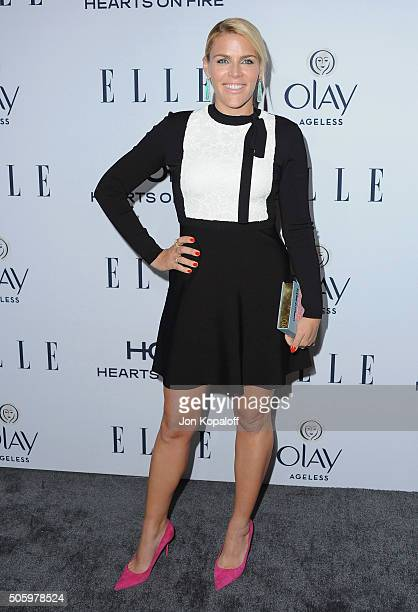 Actress Busy Philipps arrives at ELLE's 6th Annual Women In Television Dinner at Sunset Tower Hotel on January 20 2016 in West Hollywood California