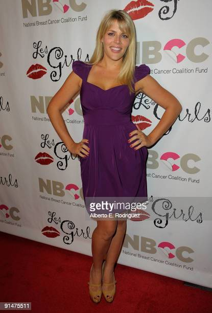 Actress Busy Philipps arrives at Les Girls 9 a cabaret featuring celebrity performances to raise funds for the National Breast Cancer Coalition on...