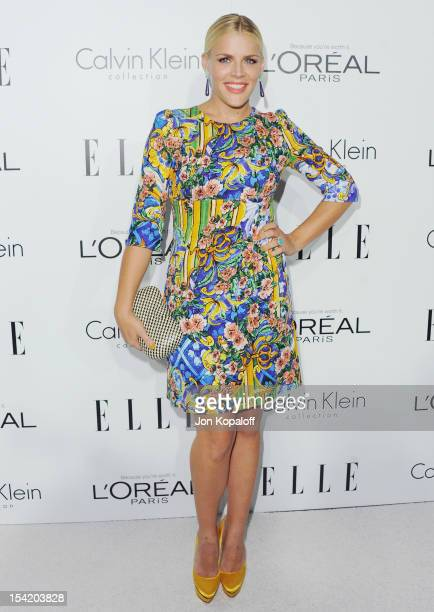 Actress Busy Philipps arrives at the 19th Annual ELLE Women In Hollywood Celebration at the Four Seasons Hotel Los Angeles at Beverly Hills on...