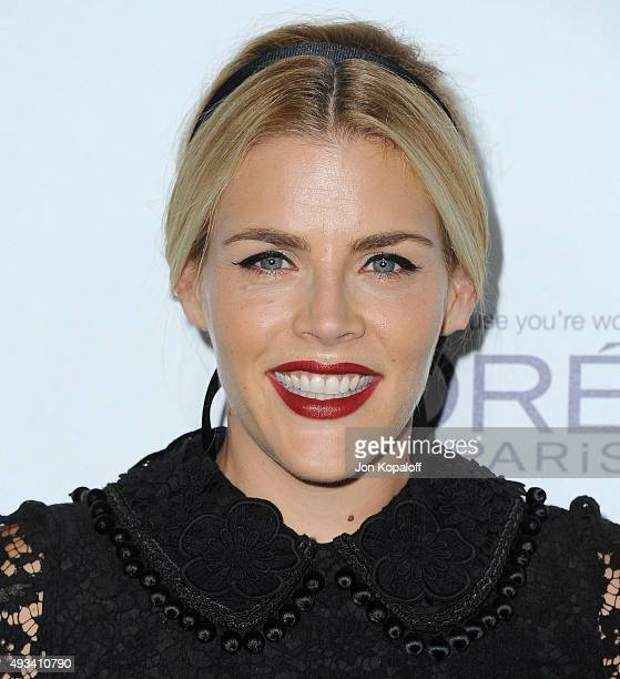 Actress Busy Philipps arrives at the 22nd Annual ELLE Women In Hollywood Awards at Four Seasons Hotel Los Angeles at Beverly Hills on October 19 2015...