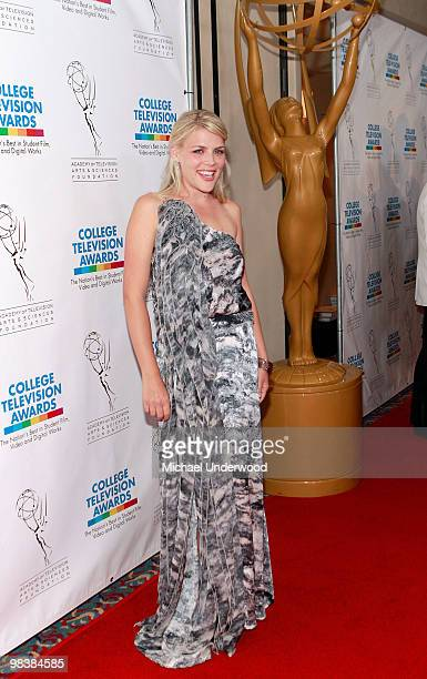 Actress Busy Philipps arrives at the 31st Annual College Television Awards hosted by the Academy of Television Arts and Sciences held at the...