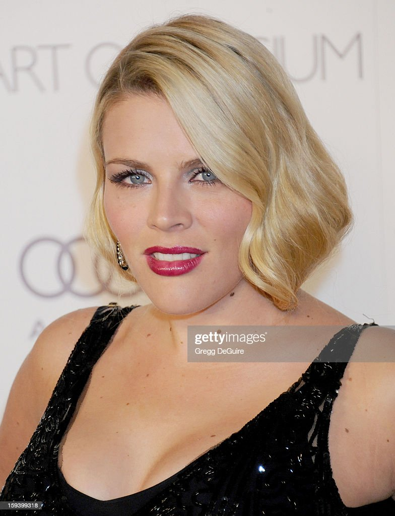 Actress Busy Philipps arrives at The Art of Elysium's Heaven Gala at 2nd Street Tunnel on January 12, 2013 in Los Angeles, California.