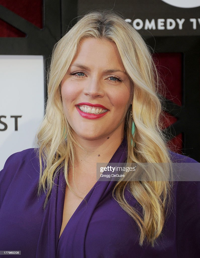 Actress <a gi-track='captionPersonalityLinkClicked' href=/galleries/search?phrase=Busy+Philipps&family=editorial&specificpeople=216133 ng-click='$event.stopPropagation()'>Busy Philipps</a> arrives at the Comedy Central Roast of James Franco at Culver Studios on August 25, 2013 in Culver City, California.