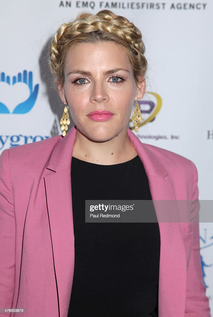 Actress <a gi-track='captionPersonalityLinkClicked' href=/galleries/search?phrase=Busy+Philipps&family=editorial&specificpeople=216133 ng-click='$event.stopPropagation()'>Busy Philipps</a> arriving at the 2nd Annual Norma Jean Gala 2014 at The Paley Center for Media on March 18, 2014 in Beverly Hills, California.