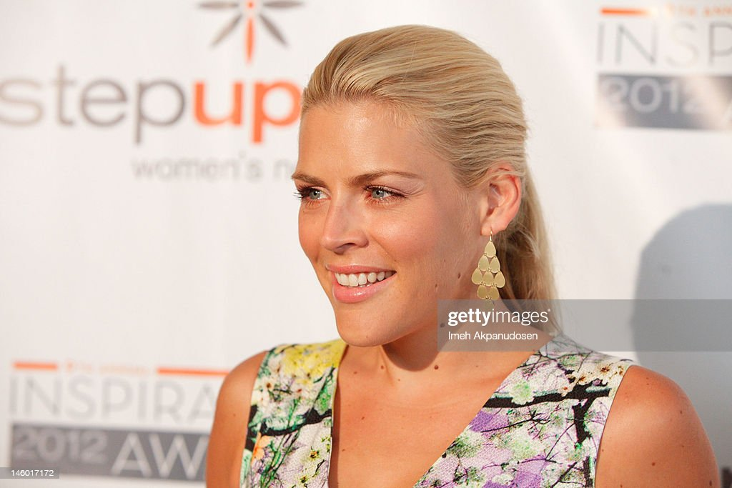 Actress <a gi-track='captionPersonalityLinkClicked' href=/galleries/search?phrase=Busy+Philipps&family=editorial&specificpeople=216133 ng-click='$event.stopPropagation()'>Busy Philipps</a> attends Step Up Women's Networks' 9th Annual Inspiration Awards at The Beverly Hilton Hotel on June 8, 2012 in Beverly Hills, California.