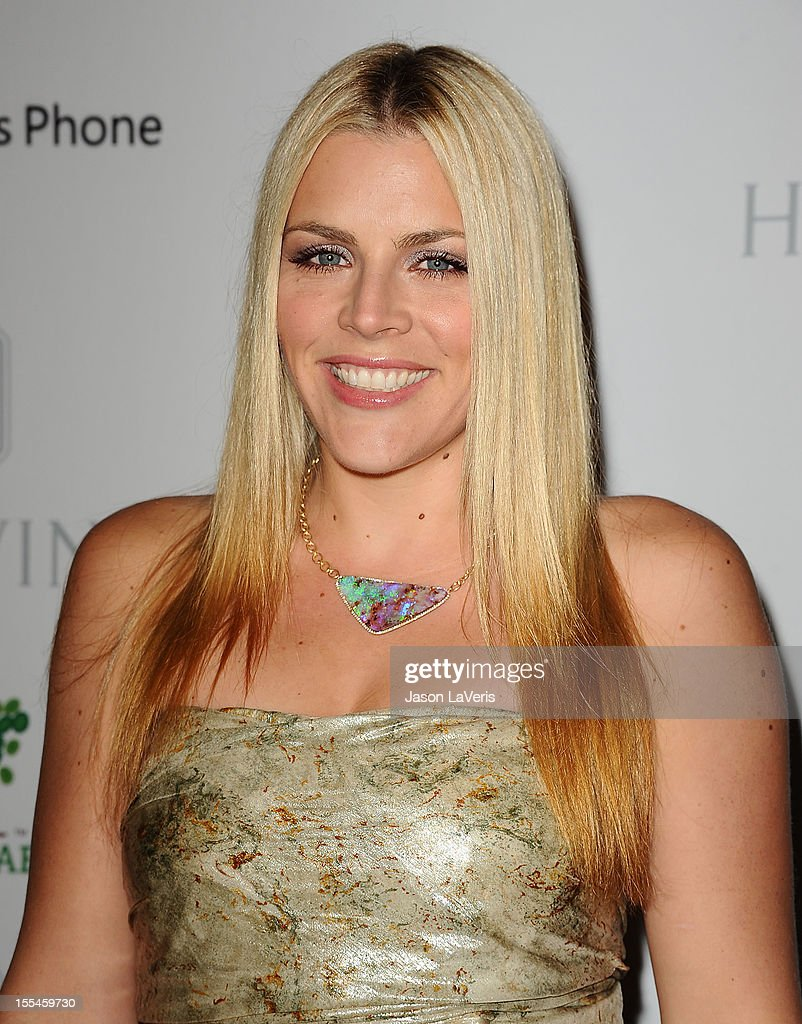 Actress <a gi-track='captionPersonalityLinkClicked' href=/galleries/search?phrase=Busy+Philipps&family=editorial&specificpeople=216133 ng-click='$event.stopPropagation()'>Busy Philipps</a> attends the 1st annual Baby2Baby gala at Book Bindery on November 3, 2012 in Culver City, California.