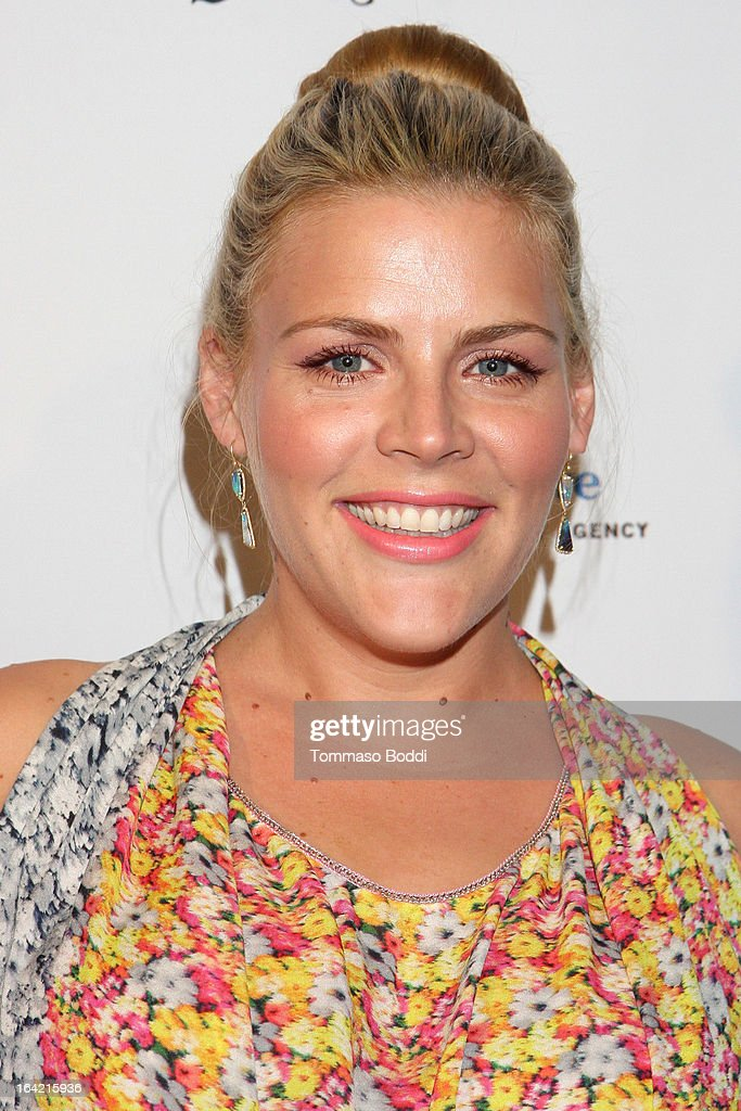 Actress <a gi-track='captionPersonalityLinkClicked' href=/galleries/search?phrase=Busy+Philipps&family=editorial&specificpeople=216133 ng-click='$event.stopPropagation()'>Busy Philipps</a> attends the 1st Annual Norma Jean Gala held at the TCL Chinese Theatre on March 20, 2013 in Hollywood, California.