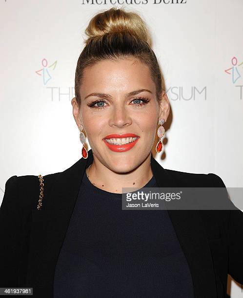 Actress Busy Philipps attends the Art of Elysium's 7th annual Heavan gala at Skirball Cultural Center on January 11 2014 in Los Angeles California