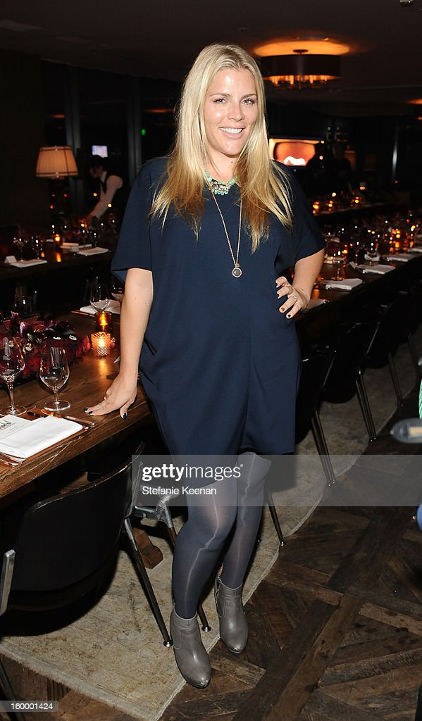 Actress Busy Philipps attends the ELLE's Women in Television Celebration at Soho House on January 24, 2013 in West Hollywood, California.