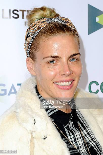 Actress Busy Philipps attends the premiere of Mister Lister Film's 'Consumed' at Laemmle Music Hall on November 11 2015 in Beverly Hills California