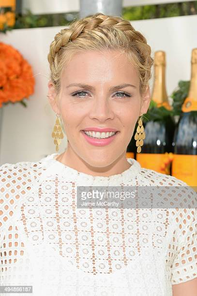 Actress Busy Philipps attends the seventh annual Veuve Clicquot Polo Classic in Liberty State Park on May 31 2014 in Jersey City City