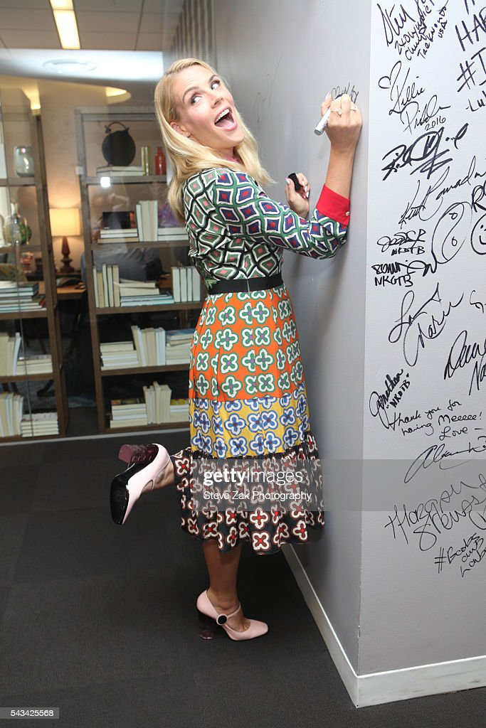 Actress Busy Philipps discusses her new New HBO Show 'Vice Principals' at AOL Build at AOL Studios In New York on June 28, 2016 in New York City.