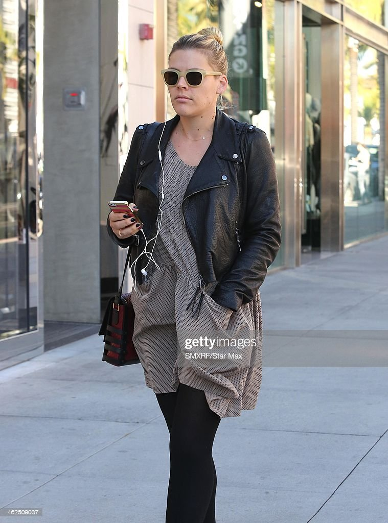 Actress Busy Philipps is seen on January 13, 2014 in Los Angeles, California.