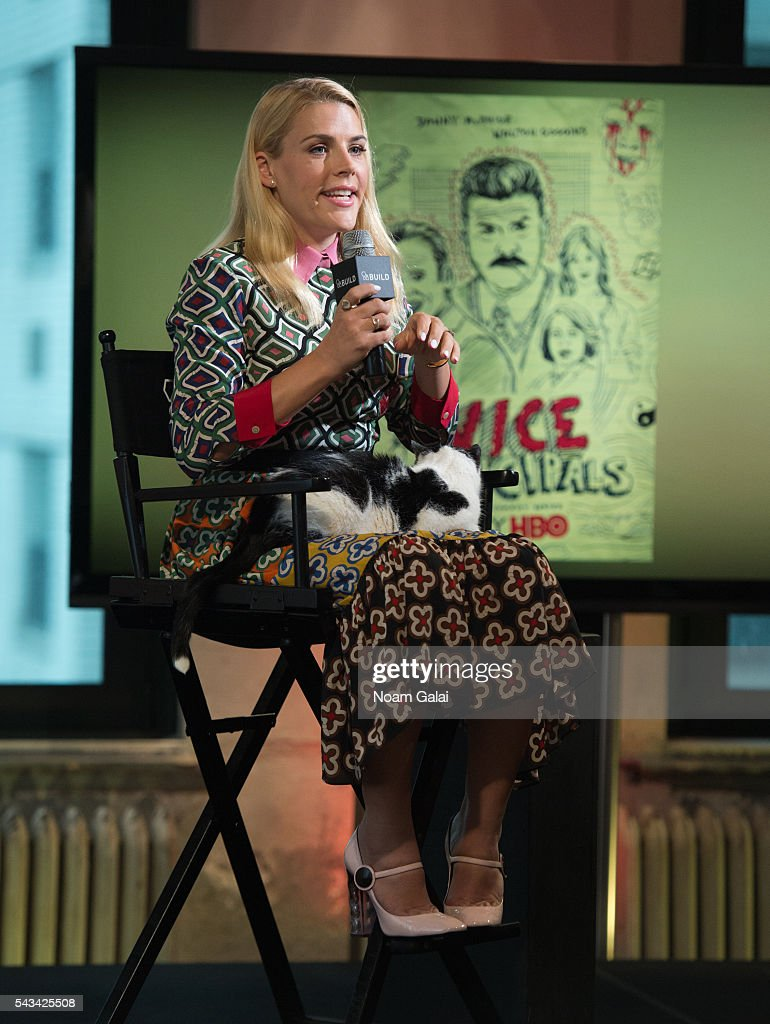 Actress Busy Philipps visits AOL Build to discuss 'Vice Principals' at AOL Studios In New York on June 28, 2016 in New York City.