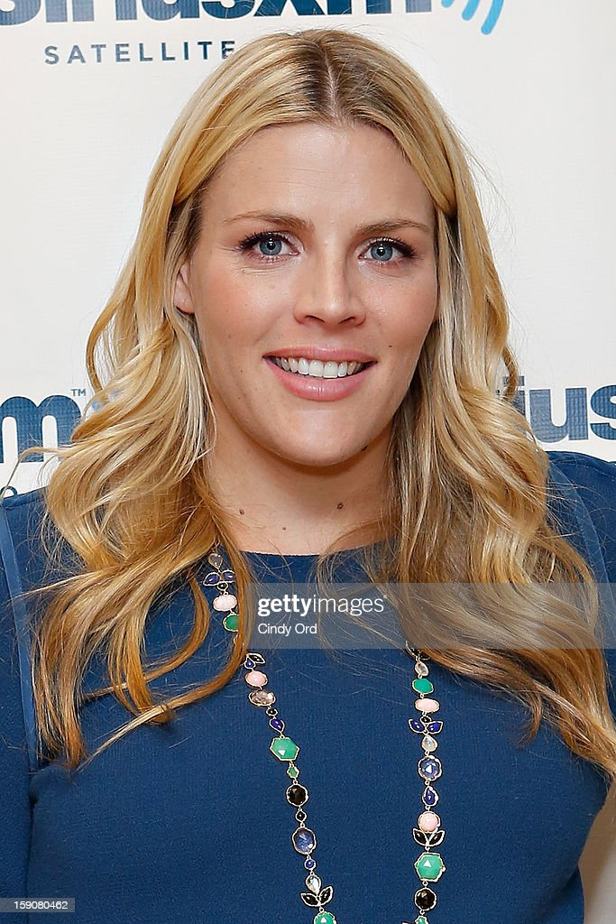 Actress <a gi-track='captionPersonalityLinkClicked' href=/galleries/search?phrase=Busy+Philipps&family=editorial&specificpeople=216133 ng-click='$event.stopPropagation()'>Busy Philipps</a> visits the SiriusXM Studios on January 7, 2013 in New York City.