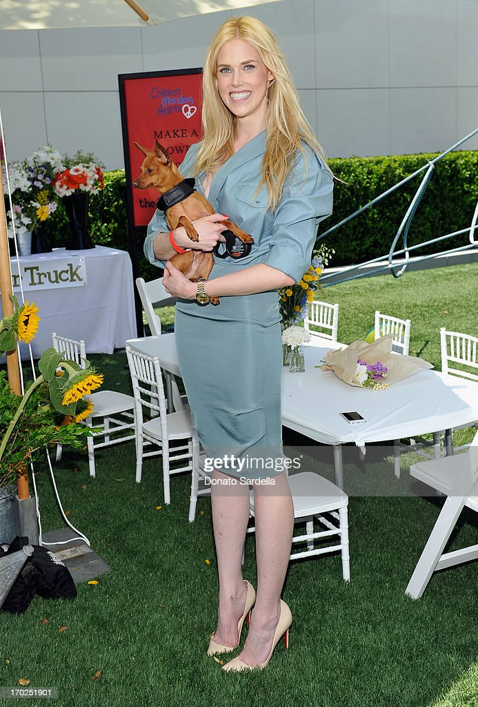 Actress Byrdie Bell attends the 1st Annual Children Mending Hearts Style Sunday on June 9, 2013 in Beverly Hills, California.