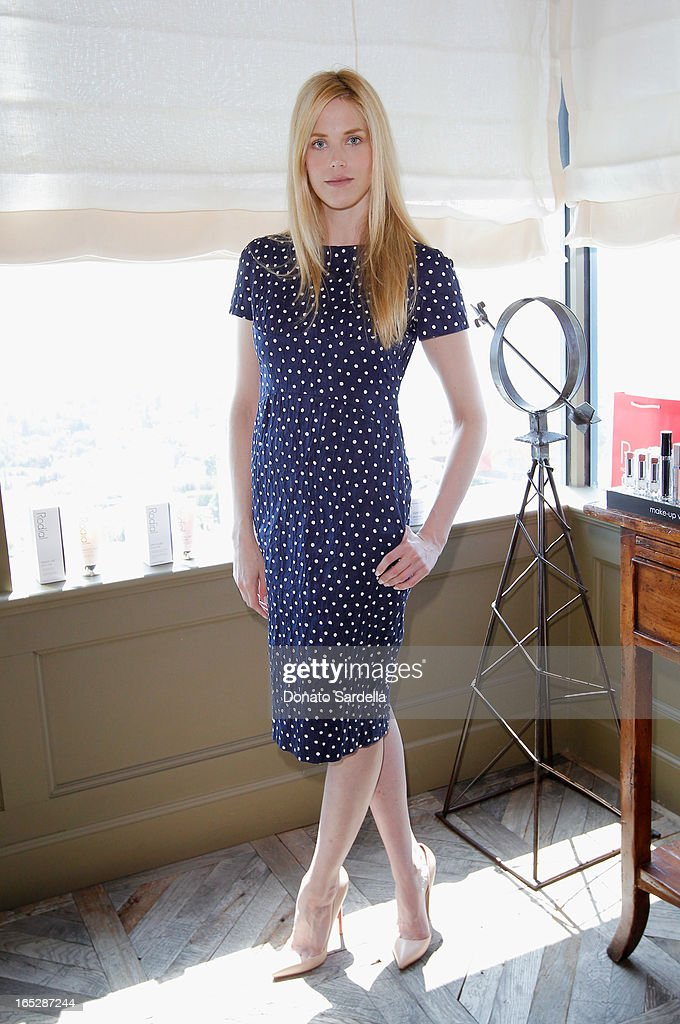 Actress Byrdie Bell attends the Rodial 10th Anniversary Luncheon on April 2, 2013 in West Hollywood, California.
