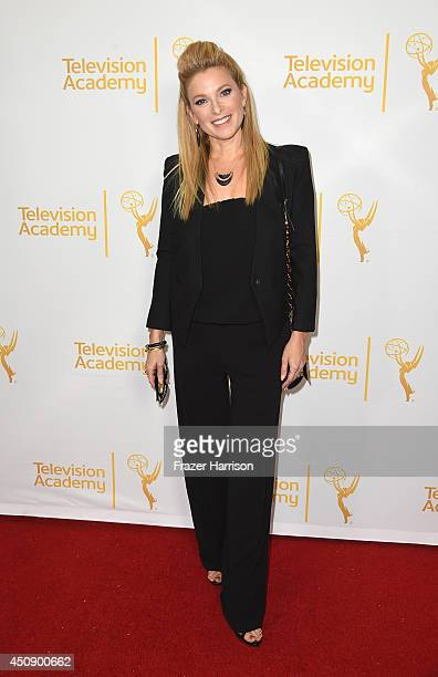 Actress Cady McClain attends Television Academy's Daytime Programming Peer Group's 41st Annual Daytime Emmy Nominees Celebration at The London West...