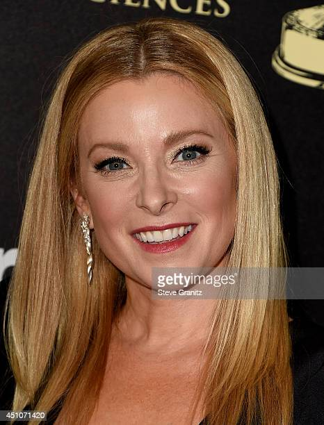 Actress Cady McClain attends The 41st Annual Daytime Emmy Awards at The Beverly Hilton Hotel on June 22 2014 in Beverly Hills California