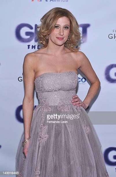 Actress Caissie Levy attends 'Ghost The Musical' Opening Night at Tunnel on April 23 2012 in New York City