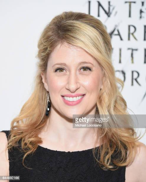 Actress Caissie Levy attends 'Sunday In The Park With George' Broadway opening night at The Hudson Theatre on February 23 2017 in New York City