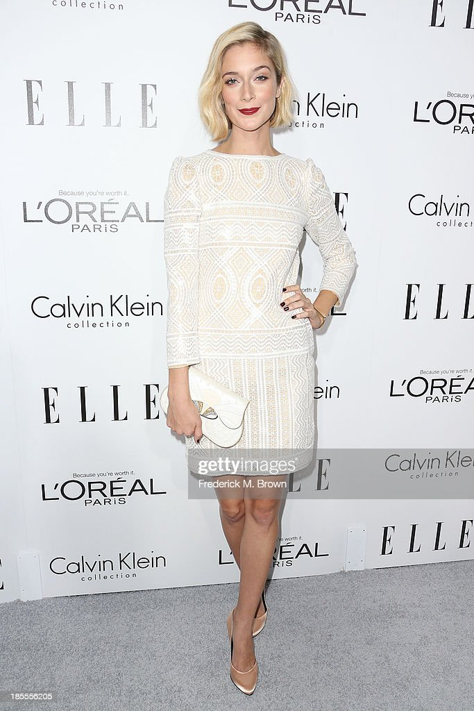 Actress Caitlin Fitzgerald attends ELLE's 20th Annual Women in Hollywood Celebration at the Four Seasons Hotel Los Angeles at Beverly Hills on October 21, 2013 in Beverly Hills, California.