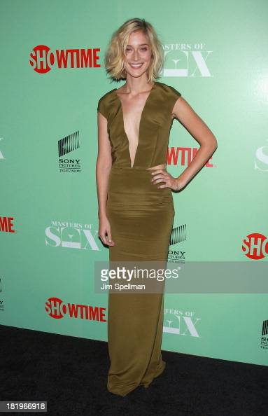 Actress Caitlin Fitzgerald attends 'Masters Of Sex' New York Series Premiere at The Morgan Library Museum on September 26 2013 in New York City