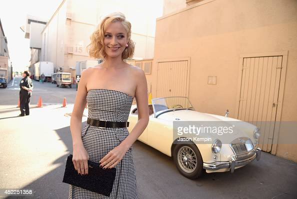 Actress Caitlin Fitzgerald attends Showtime's 'Masters Of Sex' Season 2 2014 Summer TCA Press Tour Event at Sony Pictures Studios on July 16 2014 in...