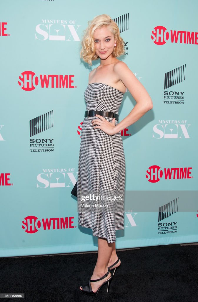 Actress <a gi-track='captionPersonalityLinkClicked' href=/galleries/search?phrase=Caitlin+Fitzgerald&family=editorial&specificpeople=6580444 ng-click='$event.stopPropagation()'>Caitlin Fitzgerald</a> attends Showtime's 'Masters Of Sex' Season 2 - 2014 Summer TCA Press Tour Event at Sony Pictures Studios on July 16, 2014 in Culver City, California.