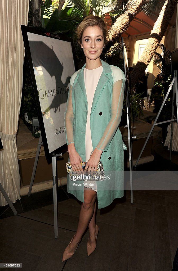Actress Caitlin FitzGerald attends the 14th annual AFI Awards Luncheon at the Four Seasons Hotel Beverly Hills on January 10, 2014 in Beverly Hills, California.