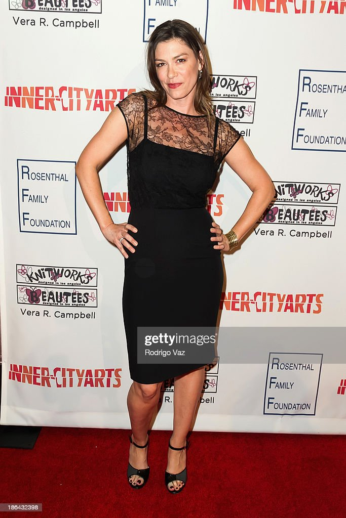 Actress Caitlin Keats attends the Inner-City Arts Imagine Gala at The Beverly Hilton Hotel on October 30, 2013 in Beverly Hills, California.