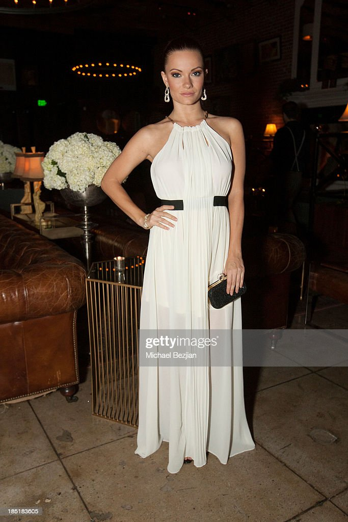 Actress Caitlin O'Connor attends Songs Of Hope Event Benefiting The Somaly Mam Foundation on October 17, 2013 in Hollywood, California.