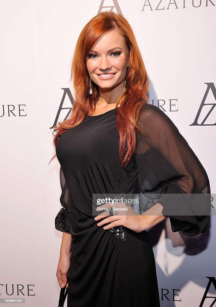 Actress Caitlin O'Connor attends The Black Diamond Affair with A Z A T U R E at Sunset Tower on October 8, 2013 in West Hollywood, California.
