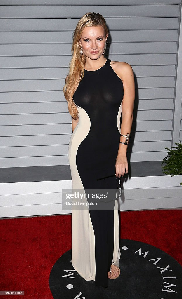 Actress Caitlin O'Connor attends the Maxim Hot 100 event at the Pacific Design Center on June 10, 2014 in West Hollywood, California.