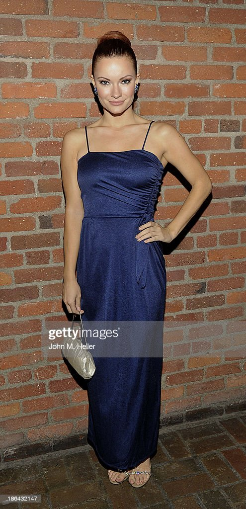 Actress Caitlin O'Oconnor attends the 2013 Grammy Award Winner Omar Akram's album release party for 'Daytime Dreamer' at the House of Music & Entertainment on October 30, 2013 in Beverly Hills, California.