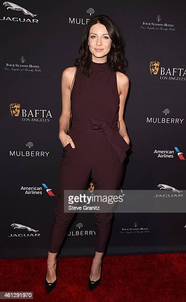 Actress Caitriona Balfe attends the 2015 BAFTA Tea Party at The Four Seasons Hotel on January 10 2015 in Beverly Hills California