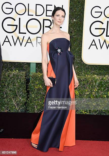 Actress Caitriona Balfe attends the 74th Annual Golden Globe Awards at The Beverly Hilton Hotel on January 8 2017 in Beverly Hills California