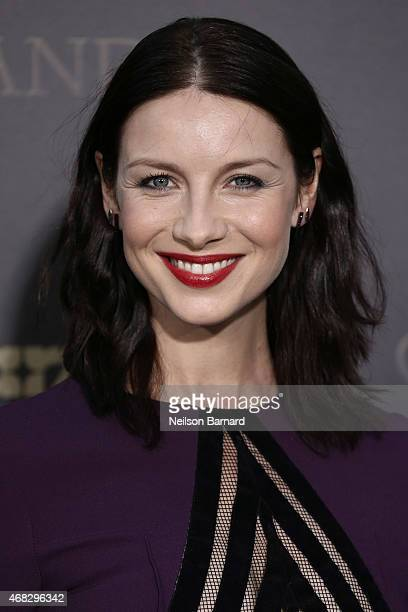 Actress Caitriona Balfe attends the 'Outlander' midseason New York premiere at Ziegfeld Theater on April 1 2015 in New York City