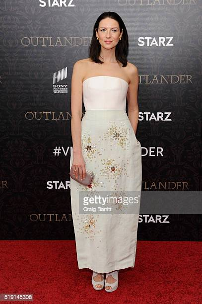 Actress Caitriona Balfe attends the 'Outlander' Season 2 Premiere on April 4 2016 in New York City