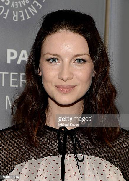 Actress Caitriona Balfe attends The Paley Center for Media presents The Artistry of 'Outlander' at The Paley Center for Media on June 6 2016 in...