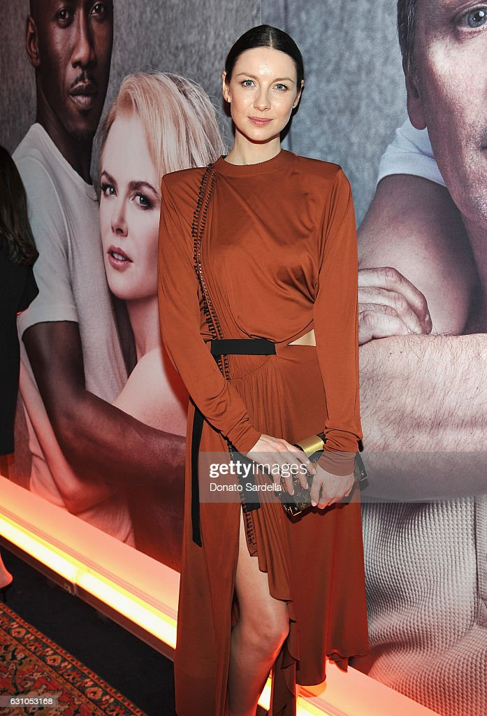 Actress Caitriona Balfe attends W Magazine Celebrates the Best Performances Portfolio and the Golden Globes with Audi and Moet & Chandon at Chateau Marmont on January 5, 2017 in Los Angeles, California.