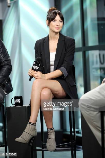 Actress Caitriona Balfe discusses 'Outlander' at Build Studio on September 6 2017 in New York City