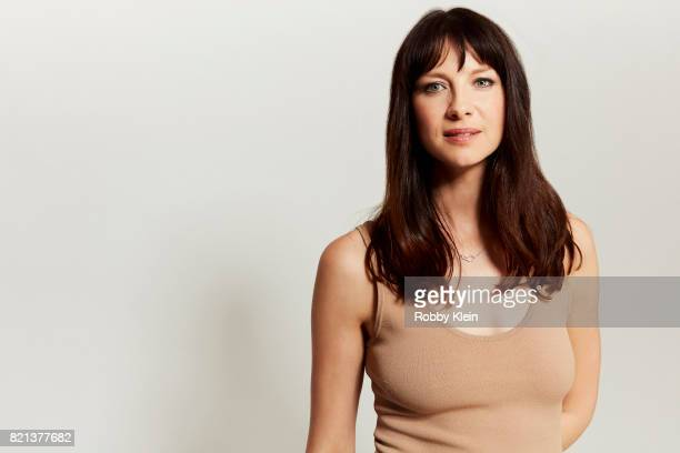 Actress Caitriona Balfe from Starz' 'Outlander' poses for a portrait during ComicCon 2017 at Hard Rock Hotel San Diego on July 21 2017 in San Diego...