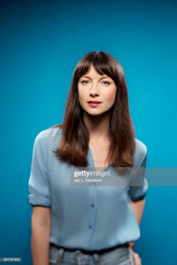 Actress Caitriona Balfe, from the television series 'Outlander,' is photographed in the L.A. Times photo studio at Comic-Con 2017, in San Diego, CA on July 22, 2017.