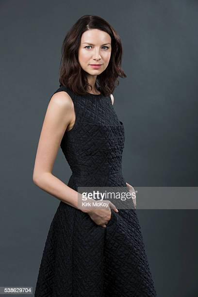 Actress Caitriona Balfe of STARZ's 'Outlander' is photographed for Los Angeles Times on March 26 2016 in Los Angeles California PUBLISHED IMAGE...