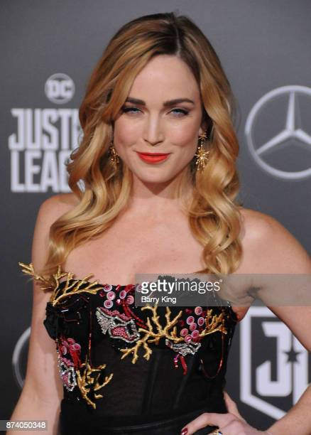 Actress Caity Lotz attends the premiere of Warner Bros Pictures' 'Justice League' at Dolby Theatre on November 13 2017 in Hollywood California