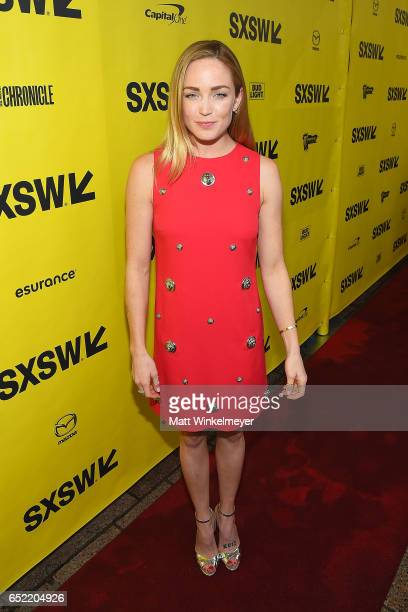 Actress Caity Lotz attends the 'Small Town Crime' premiere 2017 SXSW Conference and Festivals on March 11 2017 in Austin Texas
