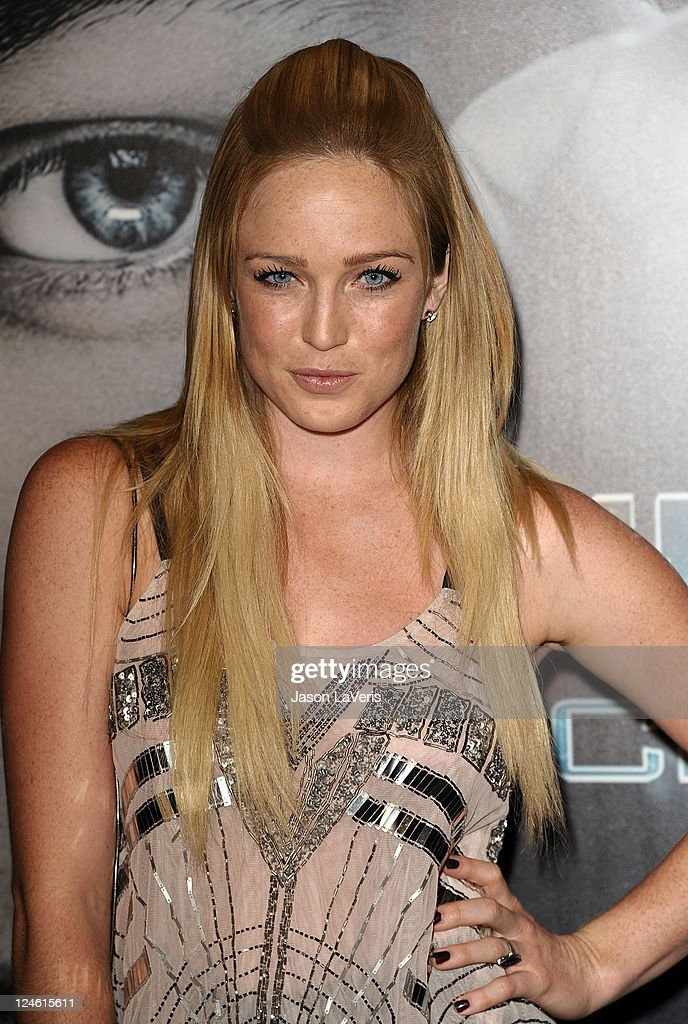 Actress Caity Lotz attends the 'X-Men: First Class' 3D projection party at The Roosevelt Hotel on September 8, 2011 in Hollywood, California.