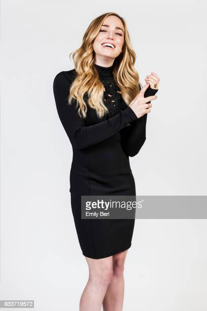 Actress Caity Lotz is photographed for New York Times on January 10 2016 in Pasadena California
